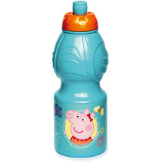 Бутылка пластиковая 400 мл., Свинка Пеппа Stor