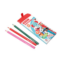 Цветные карандаши Jumbo Fisher Price, 8 цветов Limpopo