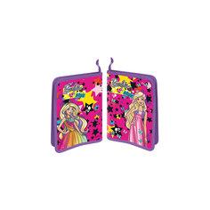 Папка пластиковая для труда А4 на молнии Mattel Barbie Limpopo