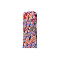 Пенал-сумочка COLORS POUCH, цвет мульти полоски Zipit