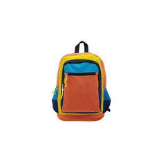 """Рюкзак """"Оранжевое настроение"""", цвет оранжевый с синим 3D Bags"""