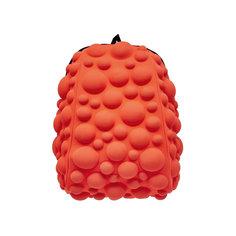 """Рюкзак """"Bubble Half"""", цвет NEON оранжево-персиковый Mad Pax"""