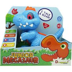 Игрушка Динозавр-повторюшка, со светом и звуком, Junior Megasaur