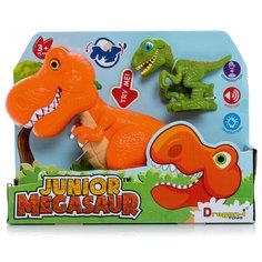 Игрушка динозавра, со светом и звуком, Junior Megasaur