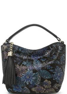 Кожаная сумка со съемным ремнем Fiato