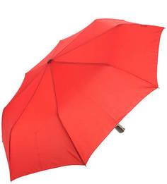 Однотонный красный складной зонт Doppler