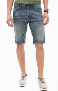 Джинсовые шорты с легкими заломами Tom Tailor Denim
