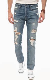 Зауженные рваные джинсы D&S Ralph Lauren