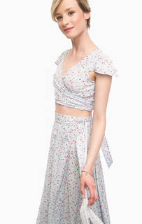 Укороченная блуза с короткими рукавами D&S Ralph Lauren