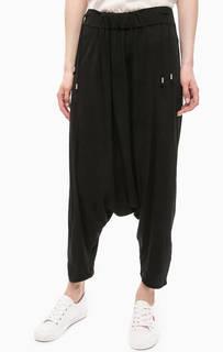 Черные брюки в гаремном стиле Drykorn