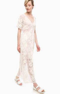Кружевное платье со съемной подкладкой Pois