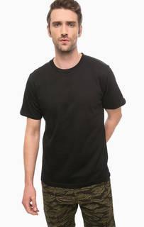 Базовая черная футболка из хлопка Carhartt WIP