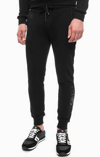 Зауженные черные брюки в спортивном стиле Liu Jo Uomo