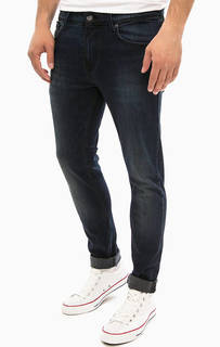 Синие джинсы с низкой посадкой Pepe Jeans