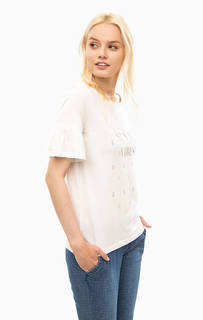 Трикотажная футболка с принтом S.Oliver