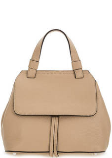 Кожаная сумка со съемным плечевым ремнем Abro