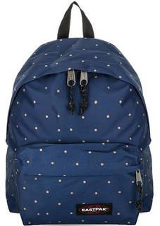 Синий рюкзак в горошек Eastpak