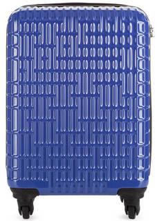 Маленький синий чемодан с кодовым замком Verage
