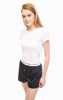 Хлопковый комплект из футболки и шорт Tommy Hilfiger