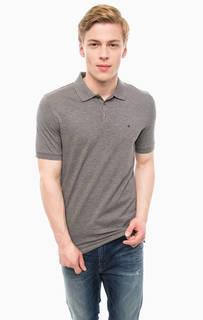 Базовая футболка поло из хлопка Calvin Klein Jeans