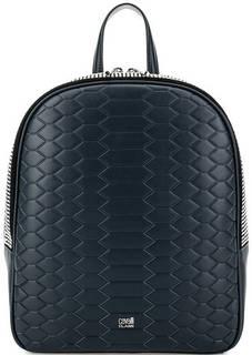Кожаный рюкзак с выделкой под рептилию Cavalli Class