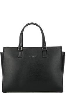 Черная сумка из сафьяновой кожи Lancaster