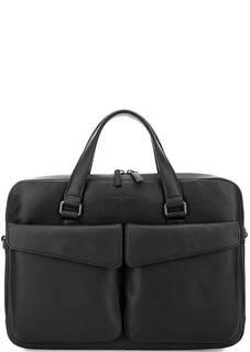 Кожаная сумка с короткими ручками Lancaster