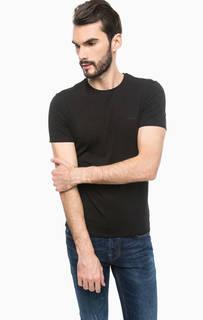 Базовая черная футболка Guess