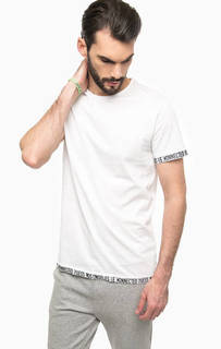 Белая футболка из хлопка Guess