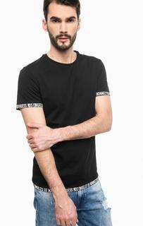 Черная футболка из хлопка Guess