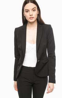 Черный пиджак приталенного кроя Marciano Guess