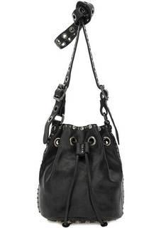Маленькая сумка-торба через плечо Campomaggi