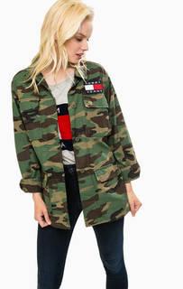 Легкая куртка с камуфляжным принтом Hilfiger Denim