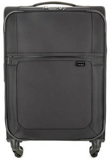 Серый текстильный чемодан с одним отделом Samsonite