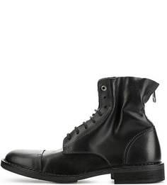 Высокие кожаные ботинки на шнуровке Diesel