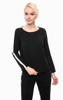 Черная блуза с длинными рукавами Cinque
