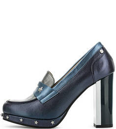 Кожаные туфли с металлическим декором Tommy Hilfiger