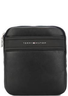 Маленькая черная сумка через плечо Tommy Hilfiger