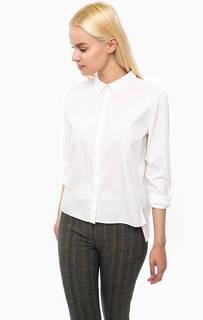 Белая рубашка с удлиненной спинкой Hilfiger Denim