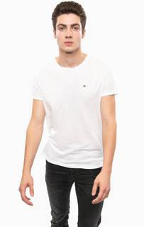 Базовая футболка с круглым вырезом Hilfiger Denim
