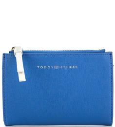 Синее портмоне на кнопках Tommy Hilfiger