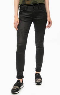 Зауженные черные брюки с карманами G Star RAW