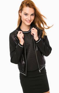 Легкая куртка-бомбер с принтом Calvin Klein Jeans