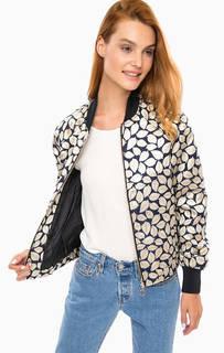 Куртка-бомбер с металлизированной нитью Vero Moda