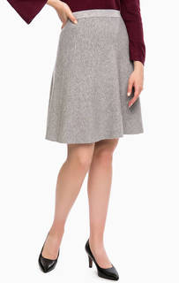 Трикотажная юбка расклешенного кроя Tom Tailor