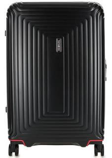 Пластиковый чемодан на колесах на молнии Samsonite