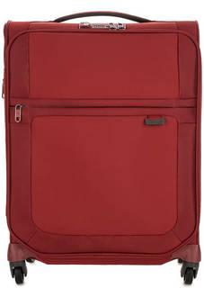 Маленький текстильный чемодан на колесах Samsonite