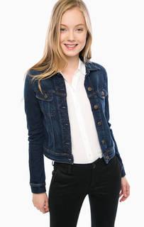 Синяя джинсовая куртка с двумя карманами Lee