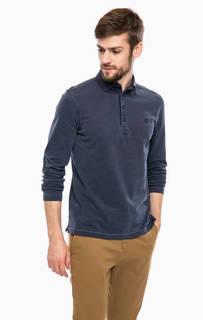 Хлопковая футболка поло с длинными рукавами Marc Opolo