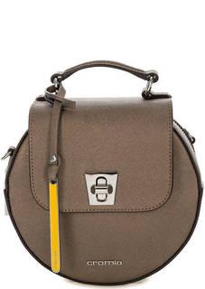 Кожаная сумка круглой формы Cromia